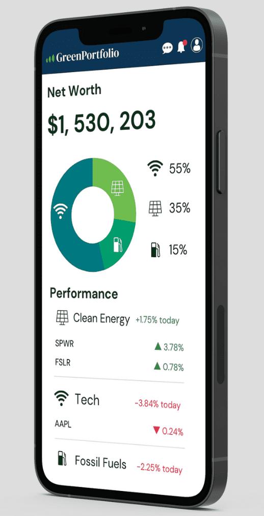 GreenPortfolio Mobile App