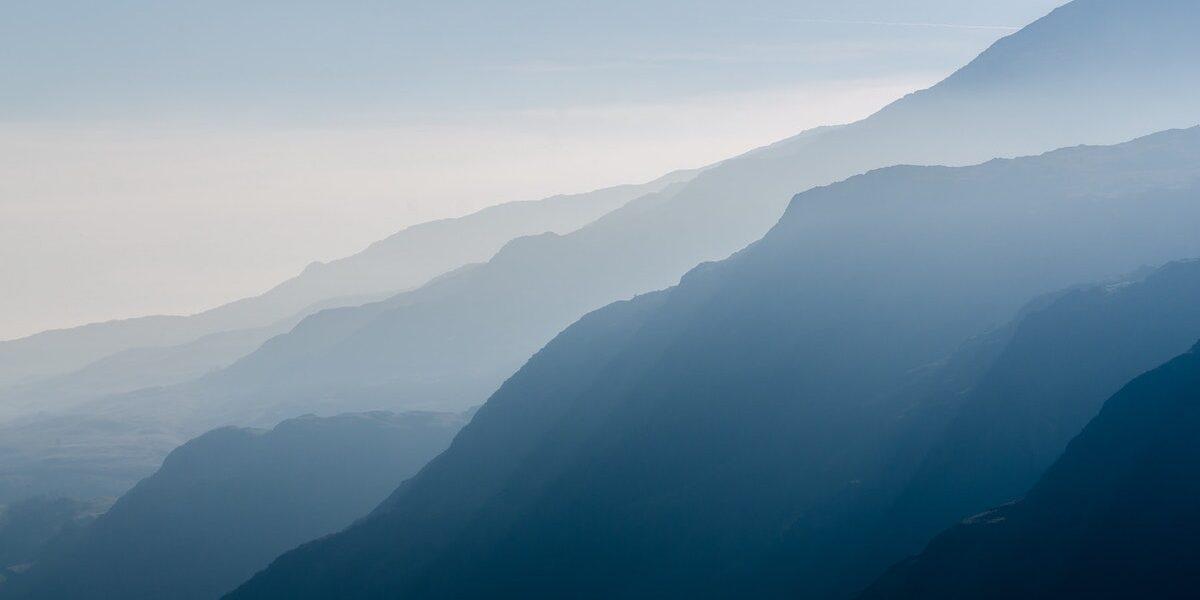 Mountains air pollution