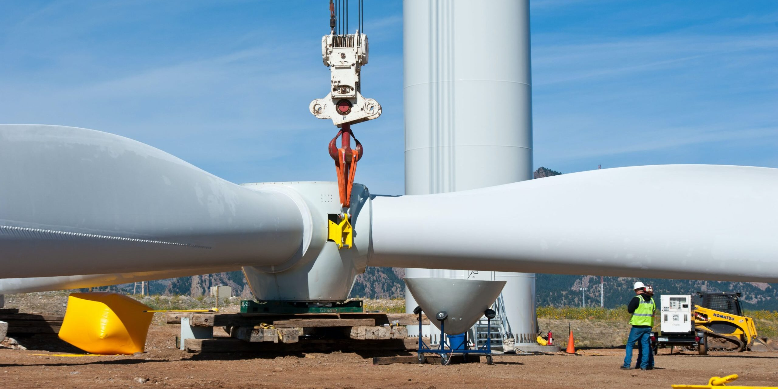 Wind Turbine power plant installation